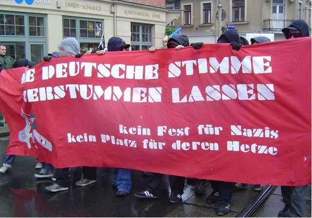 Kein Fest für Nazis in Riesa