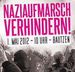 Naziaufmarsch Verhindern Bautzen